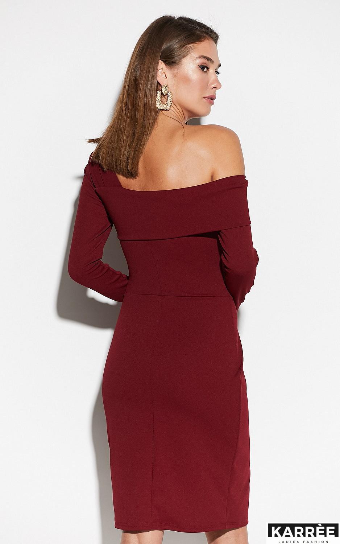 Платье Космо, Марсала - фото 3