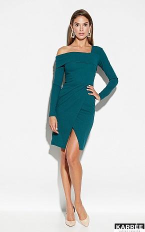 Платье Космо, Темно-зеленый - фото 1