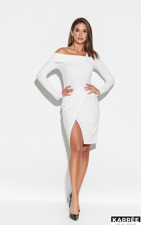 Платье Космо, Белый