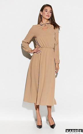 Платье Юста, Бежевый - фото 1