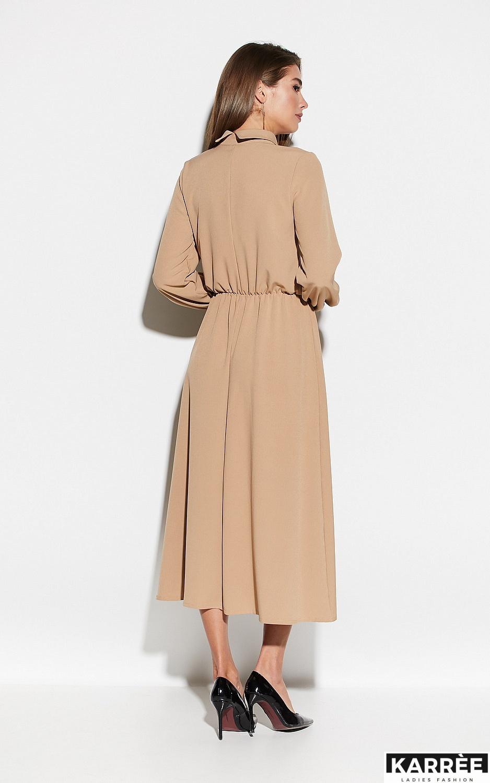 Платье Юста, Бежевый - фото 3