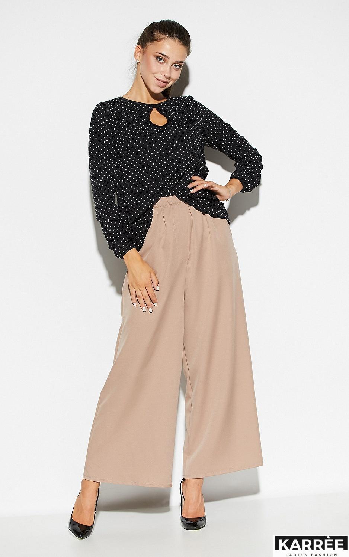 Блуза Остин, Черный - фото 1