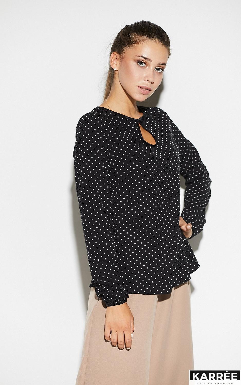 Блуза Остин, Черный - фото 2