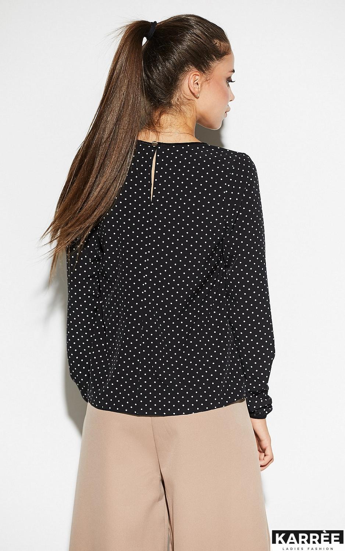 Блуза Остин, Черный - фото 3