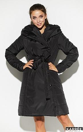 Пальто Сантино, Черный - фото 1