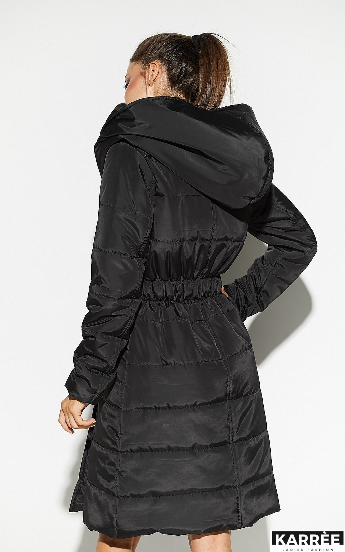 Пальто Сантино, Черный - фото 4