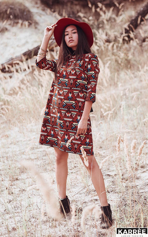 Платье Рикко, Комбинированный - фото 1