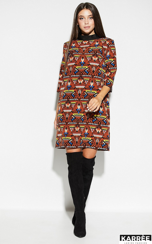 Платье Рикко, Комбинированный - фото 2