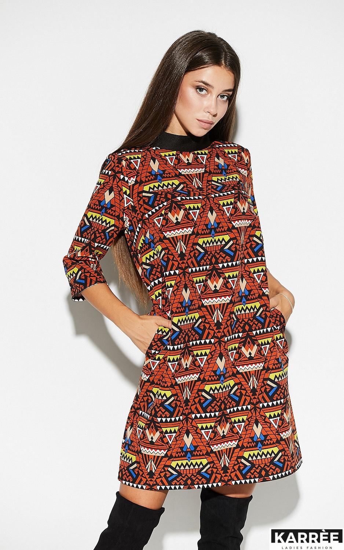 Платье Рикко, Комбинированный - фото 3