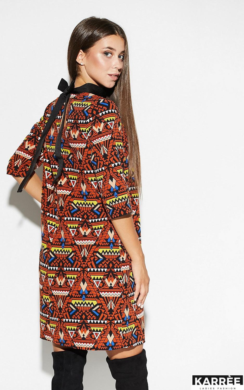 Платье Рикко, Комбинированный - фото 4
