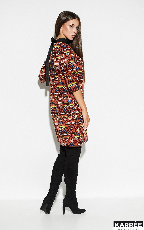 Платье Рикко, Комбинированный - фото 5