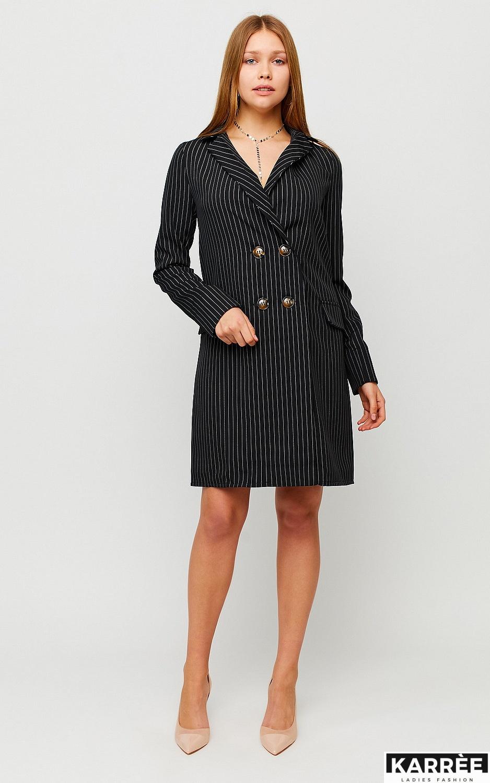 Платье Лиман, Черный - фото 3