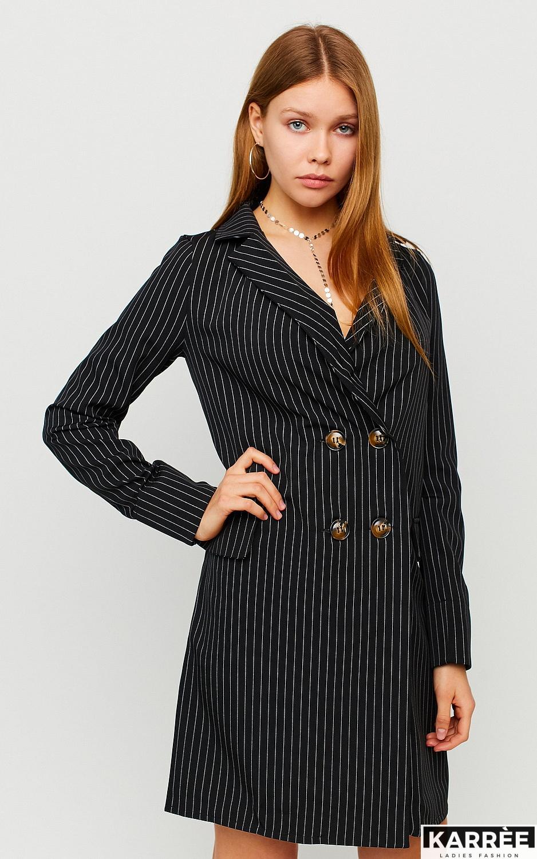 Платье Лиман, Черный - фото 1