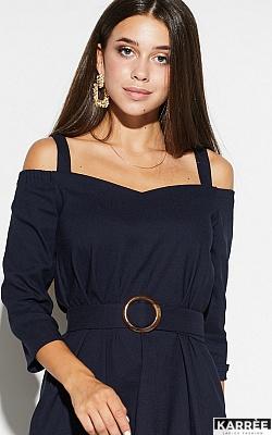 Платье Полли, Темно-синий