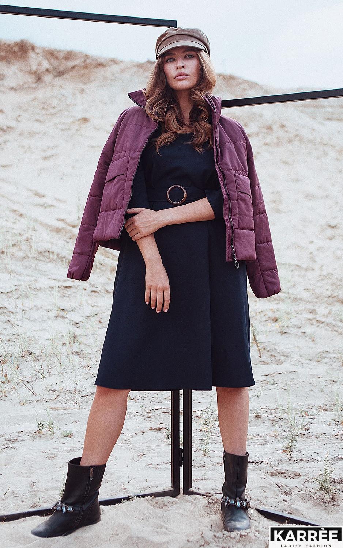 Платье Полли, Темно-синий - фото 5