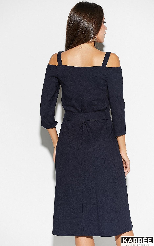 Платье Полли, Темно-синий - фото 3