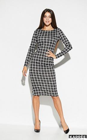 Платье Донна, Темно-серый - фото 1