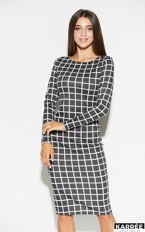 Платье Донна, Темно-серый