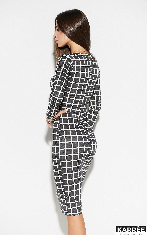 Платье Донна, Темно-серый - фото 3