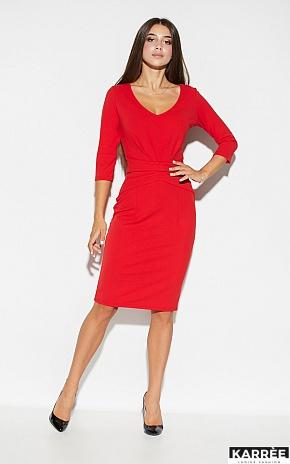 Платье Монин, Красный - фото 1