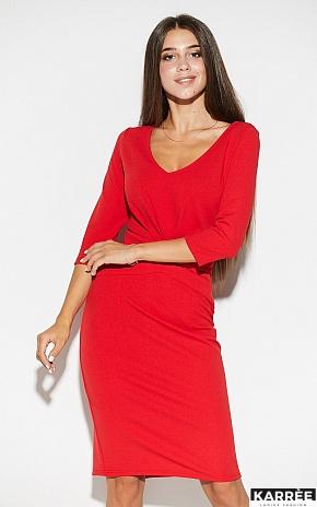 Платье Монин, Красный - фото 3