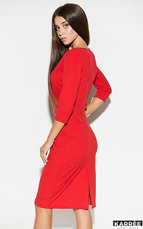 Платье Монин, Красный - фото 4