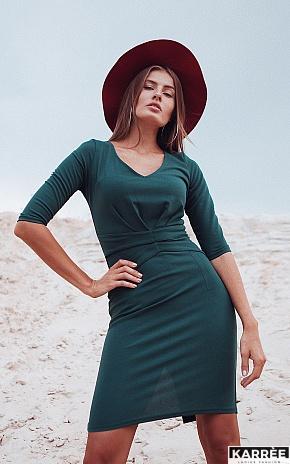 Платье Монин, Темно-зеленый - фото 1