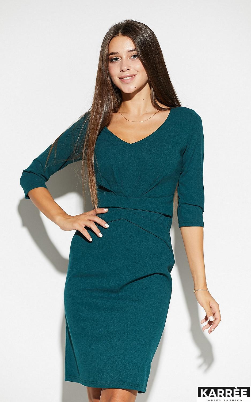 Платье Монин, Темно-зеленый - фото 4