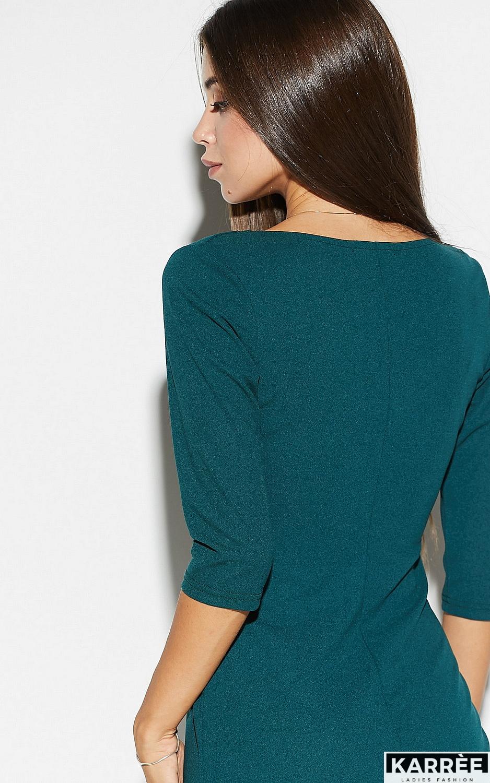 Платье Монин, Темно-зеленый - фото 6