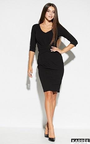Платье Монин, Черный - фото 1