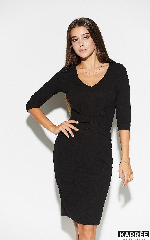 Платье Монин, Черный - фото 2