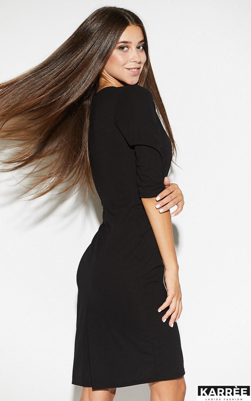 Платье Монин, Черный - фото 3