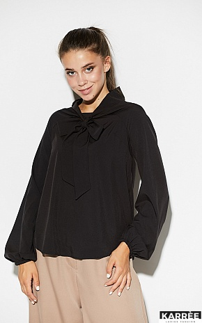 Блуза Лика, Черный - фото 2