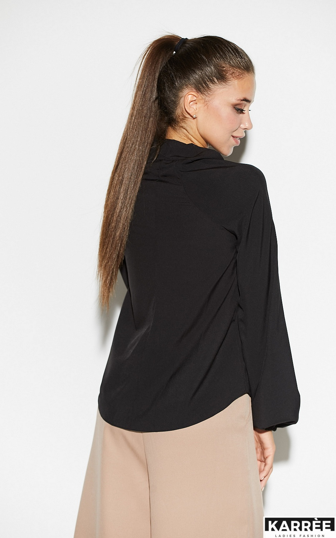 Блуза Лика, Черный - фото 3