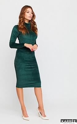 Платье Каталина, Темно-зеленый