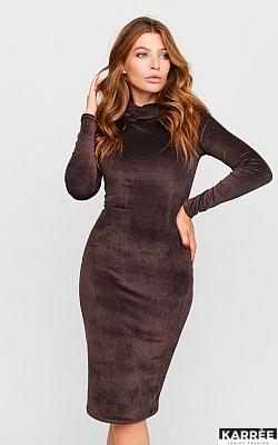Платье Каталина, Шоколадный
