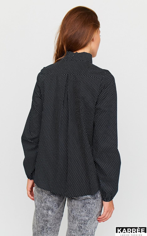 Рубашка Виста, Черный - фото 3