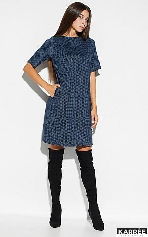 Платье Линзи, Синий - фото 1