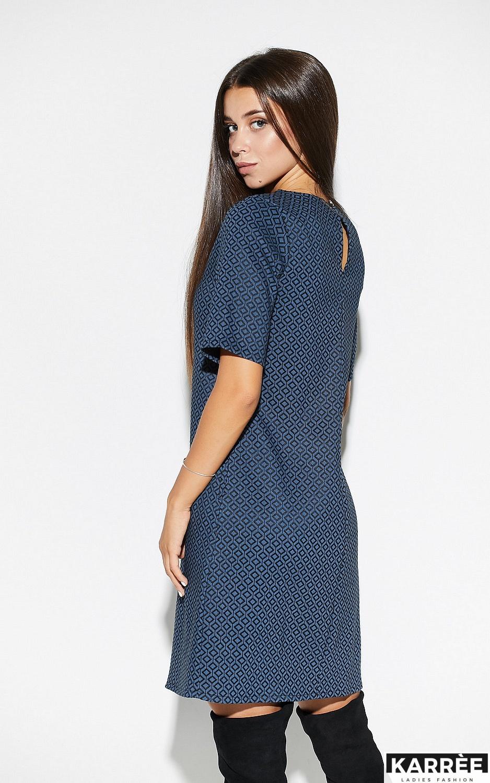 Платье Линзи, Синий - фото 3