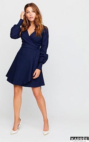 Платье Айрис, Темно-синий - фото 1