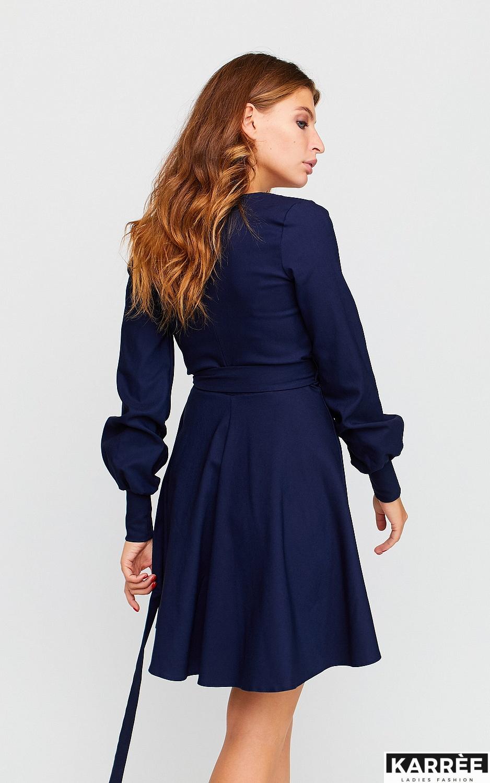 Платье Айрис, Темно-синий - фото 3