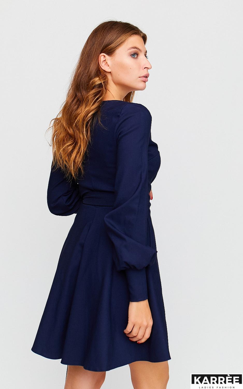 Платье Айрис, Темно-синий - фото 4
