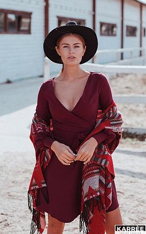 Платье Айрис, Бордо - фото 1
