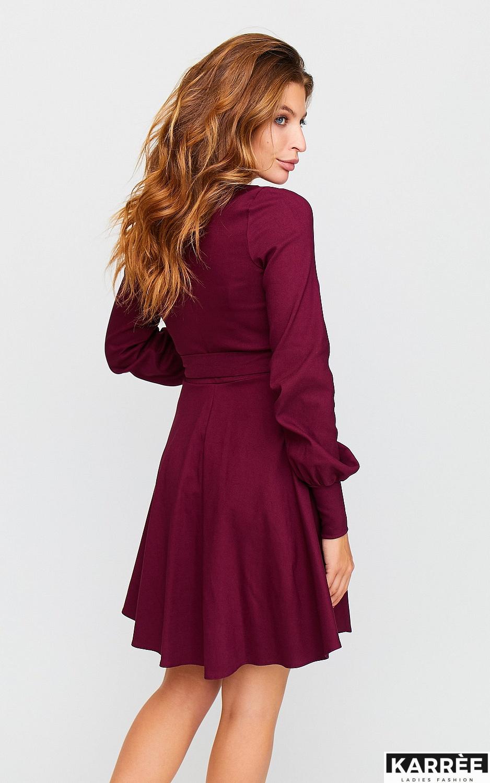 Платье Айрис, Бордо - фото 5