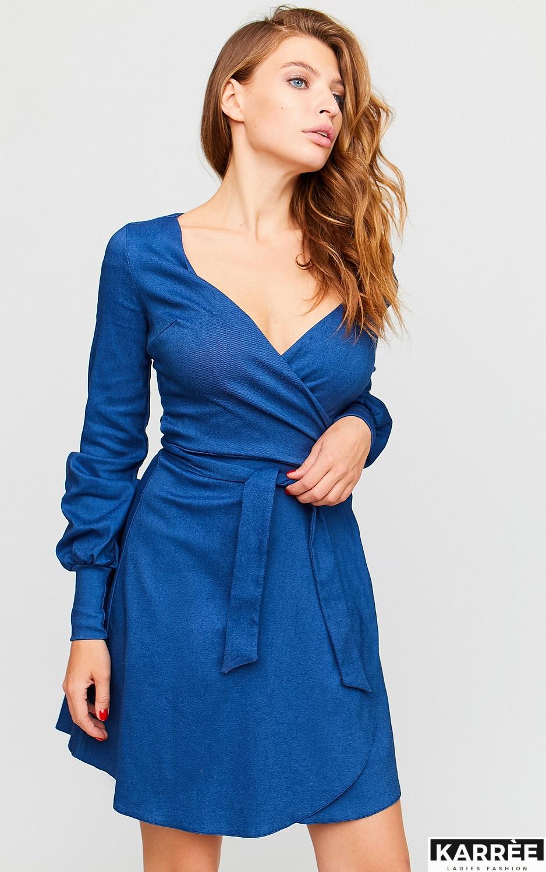 Платье Айрис, Синий - фото 4