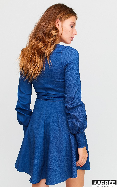 Платье Айрис, Синий - фото 7