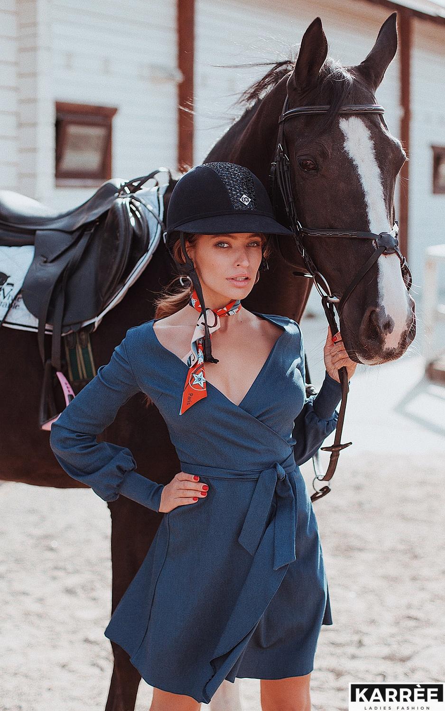 Платье Айрис, Синий - фото 1