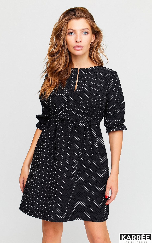 Платье Таша, Черный - фото 4
