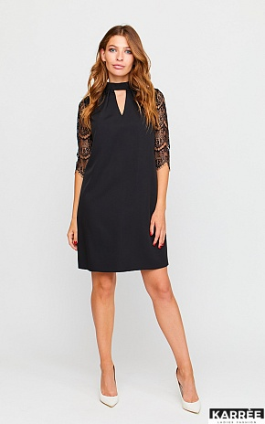 Платье Кристен, Черный - фото 1