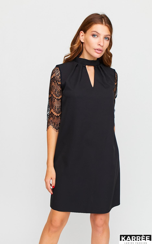 Платье Кристен, Черный - фото 2